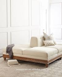 rembourrage canapé serena conversation canapé rembourrage de coton ivoire