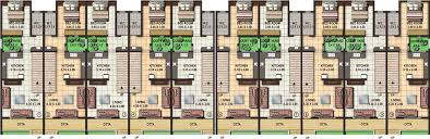 row home plans mesmerizing row house plan layout gallery best interior design