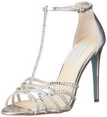 amazon com blue by betsey johnson women u0027s ruby dress sandal