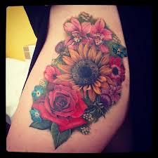 sunflower tattoo images u0026 designs