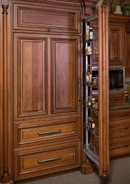 Kitchen Cabinets Spice Rack Pull Out Pantry And Food Storage Storage Solutions Custom Wood Products