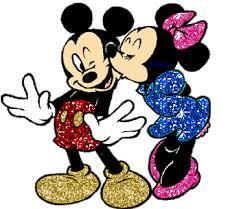 imágenes de animadas de amor dando los buenos dias minnie enamorada dando un beso a mickey amor pinterest animes