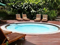 mini pool for small backyards by kos above ground mini pools for