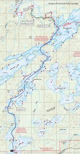Boundary Waters Map Bwca September 2011