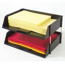 Desk Organizer Tray by Corporate Desk Tray Set Deflecto Llc