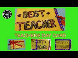 Card Making For Children - magic card for teacher on teachers day card making competition