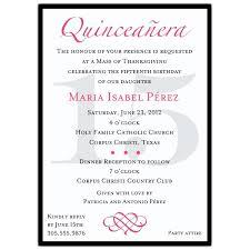 Wedding Invitation Card Sample In Quinceanera Invitation Template Quinceanera Invitation Template In