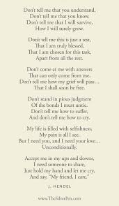 Poems Of Comfort For Loss A Poem About Grief Very Powerful And Very True Love This