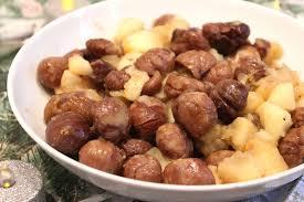 cuisiner marrons poêlé aux marrons pommes miel clémentine et épices
