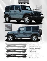 jeep wrangler graphics trek solid decals graphics vinyl stripes jeep wrangler 2008 2018