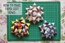 paper gift bows how to make paper gift bows shelley makes