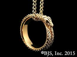 great necklace great serpent ring necklace
