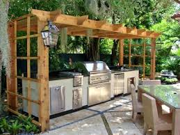 Outdoor Kitchen Design Software How To Build An Outdoor Kitchen With Wood Frame Medium Size Of