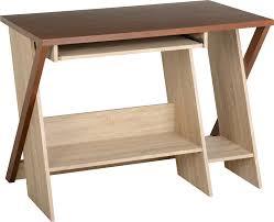 Oak Veneer Computer Desk Seconique Plc Product Info