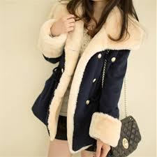 Warm Winter Coats For Women Women Fashion Double Breasted Winter Coat Female College Winter