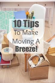 10 tips to make make moving easy