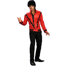 Xl Womens Halloween Costumes Michael Jackson Red Thriller Jacket Deluxe Halloween Costume