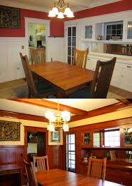 laurelhurst craftsman bungalow dining room is finally finished