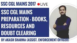 ssc cgl mains preparation by akash sharma assist enforcement