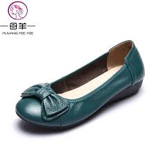 maternity shoes plus size 34 43 women shoes genuine leather flat shoes woman