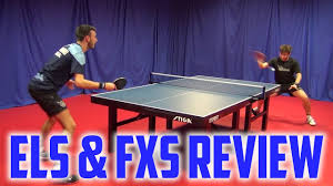 table tennis rubber reviews tibhar evolution el s and fx s rubber review youtube