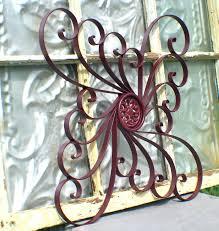 Iron Home Decor 20 Collection Of Wrought Iron Garden Wall Art Wall Art Ideas