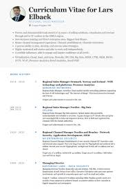 regional sales manager resume samples visualcv resume samples