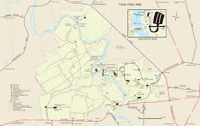 Washington Park Map by Tyler State Park Philly Day Hiker