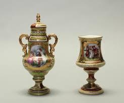 austrian vases antique 51bidlive two austrian porcelain vases 19th c