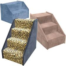 18 inch carpeted dog steps wood pet stairs made in the usa