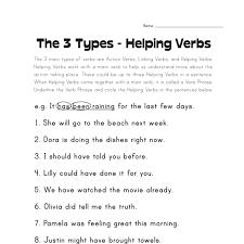 helping verbs worksheet 28 templates helping verbs worksheets