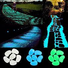 glow in the dark rocks amazon com ihome set 300 pcs glow stones glow in the dark