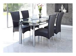 Folding Dining Table And Chair Set Butterfly Folding Dining Table And Four Chairs Round Glass Small