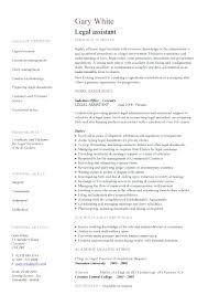 Sample Resume Of Secretary Resume Legal Resume Sample Australia Company Secretary Assistant