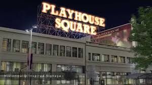 Cleveland Outdoor Chandelier Playhousesquare Cleveland Ohio New In 2014 Youtube