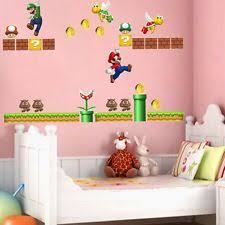 Super Mario Bedroom Decor Super Mario Bedroom Ebay