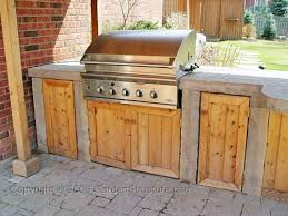 DIY Outdoor Kitchen Cabinet Door Design How To Build  For The - Outdoor bbq kitchen cabinets