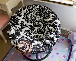 Outdoor Papasan Chair Cushion Decorating Rattan Papasan Chair And Stool Using White Papasan