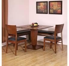 buy godwin 1 2 bench dining set home by nilkamal walnut