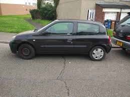 renault clio 1 2 16v expression 3dr hatchback petrol black manual