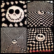 nightmare before tapestry crochet patchwork