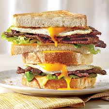 the ultimate fried egg sandwich with bbq bacon recipe myrecipes