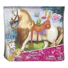 amazon com disney princess rapunzel u0027s horse maximus toys u0026 games
