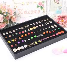 earring holder for studs free shipping wheel stud earring pin earrings display box jewelry