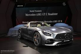 mercedes amg gt r enters production gt roadster joins it in