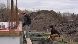 building your icf home concrete youtube
