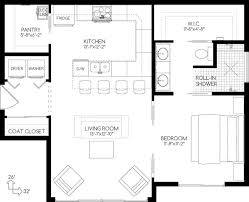 Small Full Bathroom Floor Plans 170 Best Little Houses Images On Pinterest Small House Plans