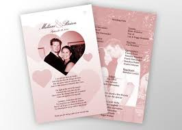 cheap wedding ceremony programs 15 best wedding images on receptions wedding programs