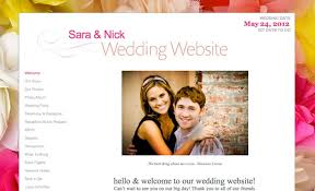 free personal wedding websites weddings n style guest post get a free personalized wedding website