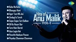 Top Bar Songs Best Of Anu Malik Bollywood Hits Top 10 Songs Indian Music